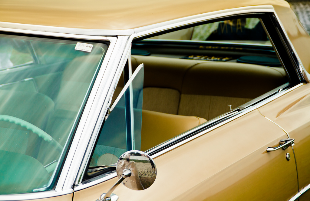 window on a brown 65
