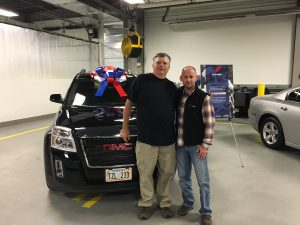 Veteran Receives Car