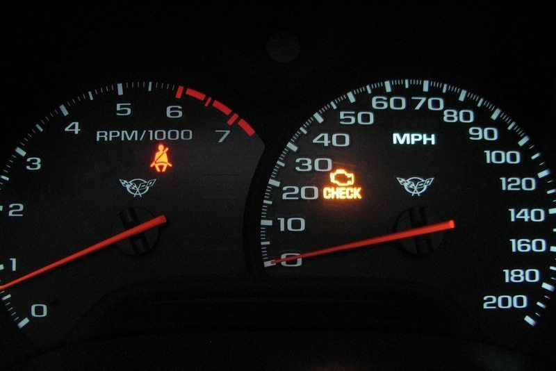 What does check engine light mean?
