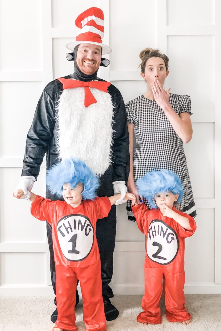 The Cat in the Hat family halloween costume ideas