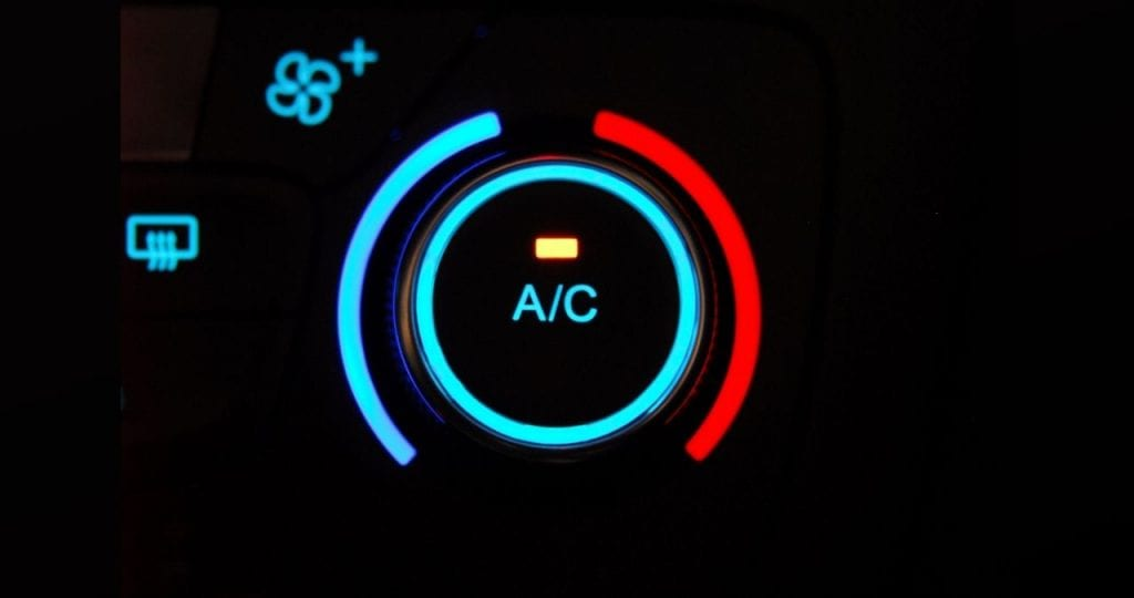Car's air conditioning